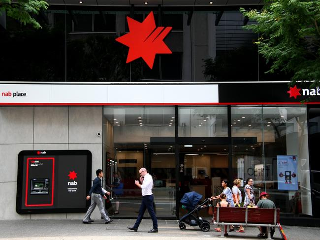 Thousands of NAB customers are being contacted about the data breach. Picture: David Clark
