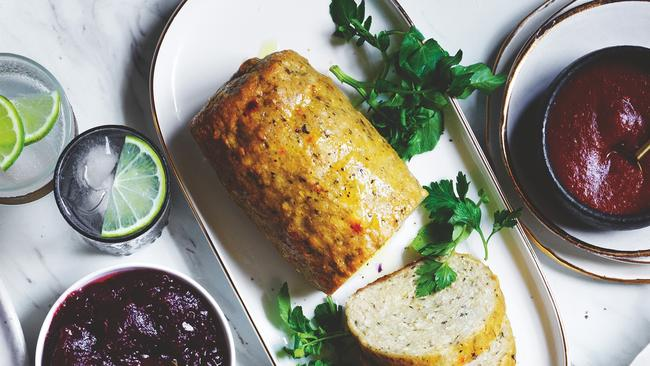 Coles is selling a Vegan Roast for a plant-based Christmas. Picture: Coles