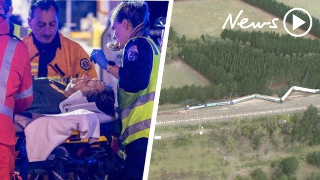Two dead after train derails near Wallan, Victoria