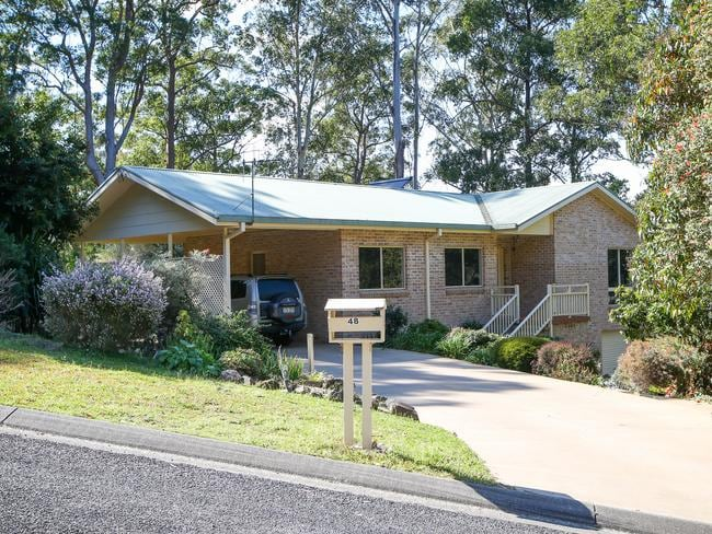 The house on Benaroon Drive, Kendall where William Tyrrell was playing when he vanished in 2014. Picture: Lindsay Moller