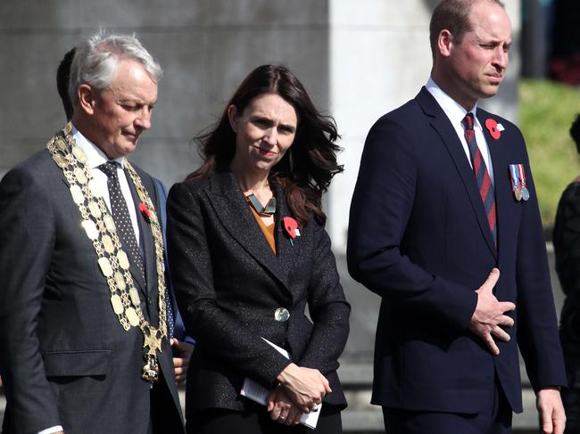 The most recent royal visit to New Zealand was Prince William's in the wake of the Christchurch tragedy. Picture: Phil Walter/Getty Images