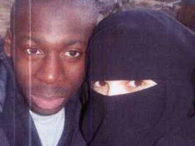 Amedi Coulibaly & Hayat Boumeddiene, two of the four terrorist involved in the Paris attacks. Source: TWITTER @rConflictNews