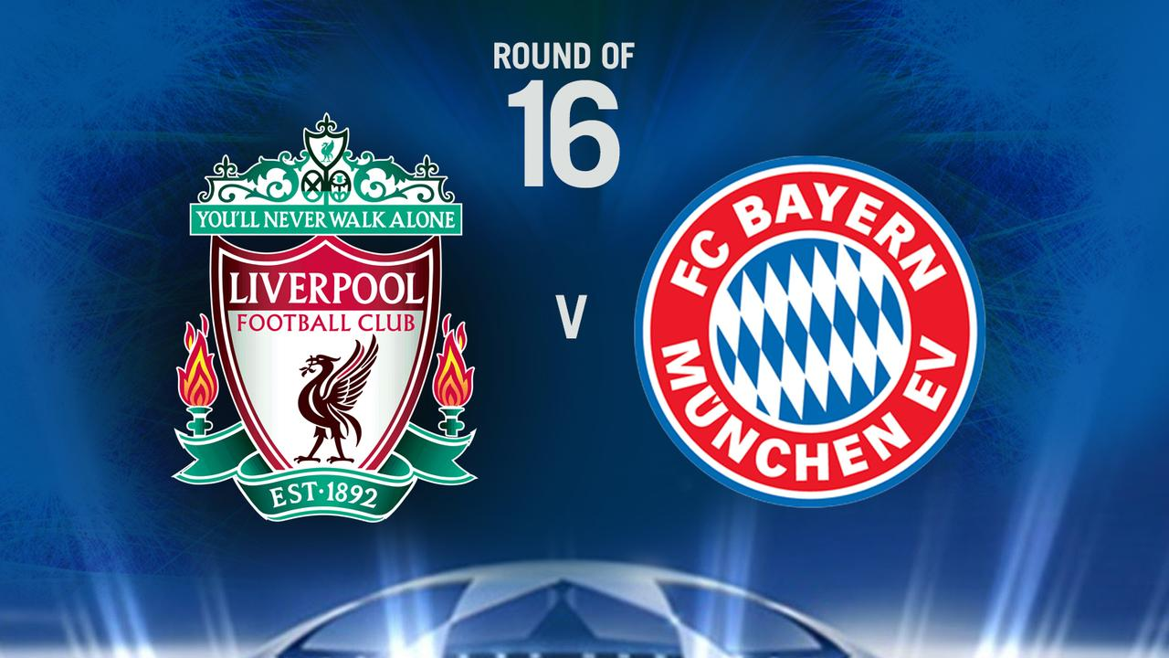 Liverpool take on Bayern in the Champions League
