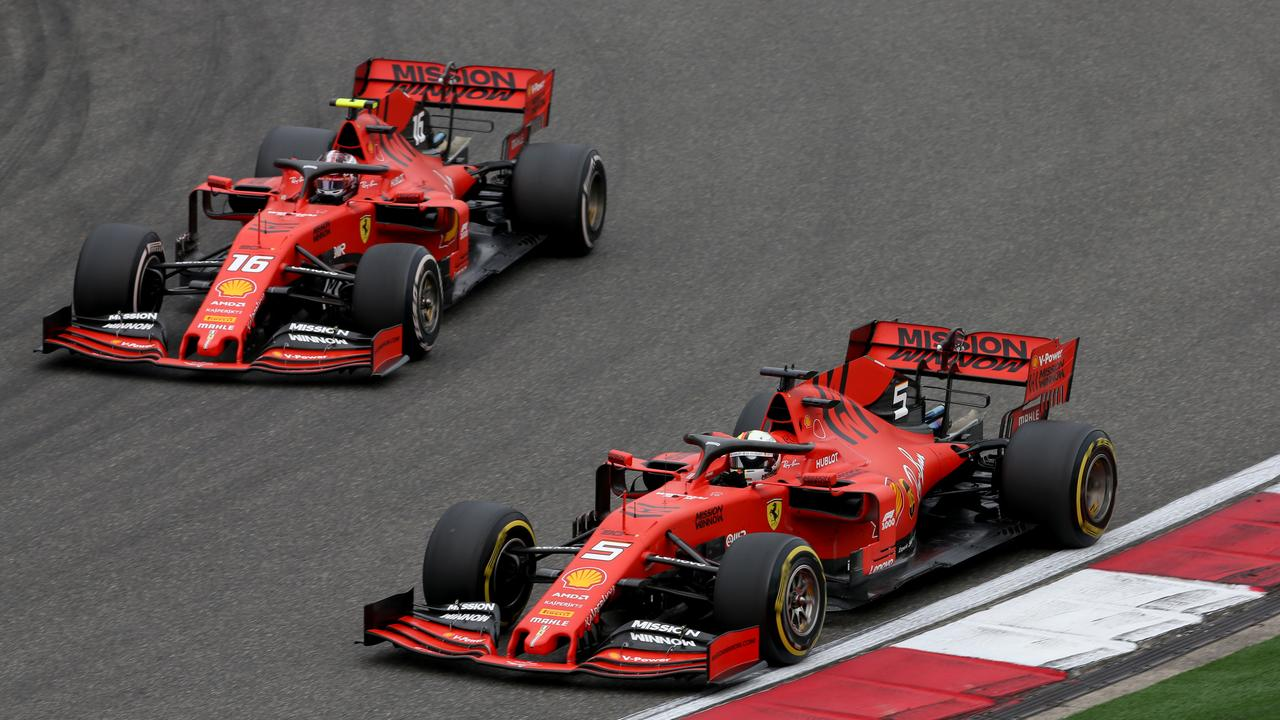 Charles Leclerc was told to let Sebastian Vettel pass him early in the race.