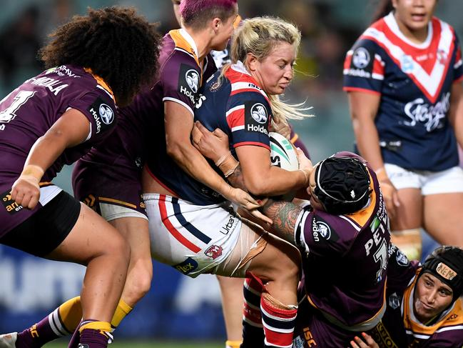 It's been an impressive start for NRLW. Pic: AAP