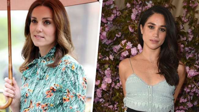 The duchesses have denied they are feuding. Photo: Getty