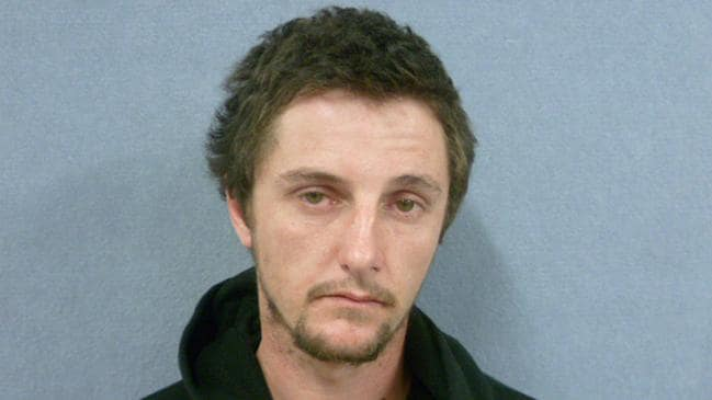 Jake Dohnt had been on the run for more than 24 hours. Picture: South Australian Police/AAP
