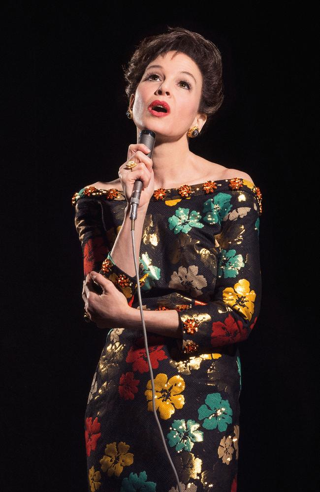 Zellweger will star as Judy Garland in a new biopic based on the true story of the Hollywood icon's final concerts in London. Picture: Pathe UK/PA