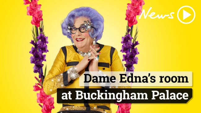 Dame Edna has a candid chat with The Sunday Telegraph