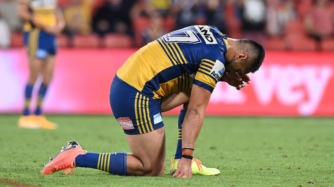 Eels star's season on the line after copping crusher tackle charge