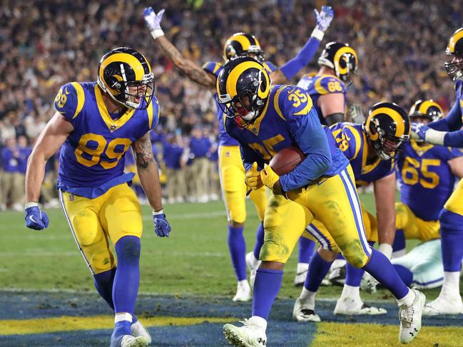 CJ Anderson and Todd Gurley basically ran the Rams to the win.