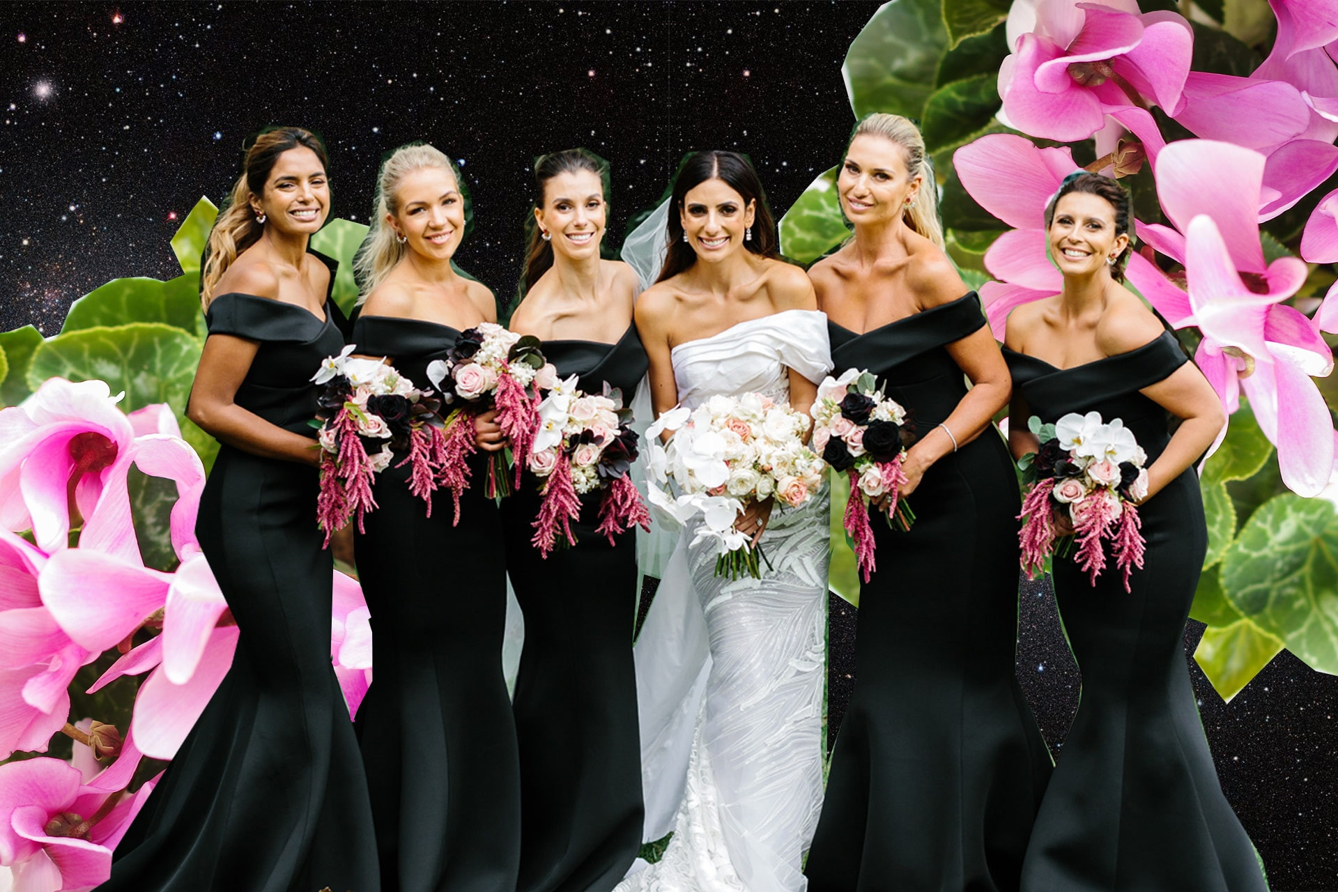 This is how to assign your bridemaids' duties based on their star sign