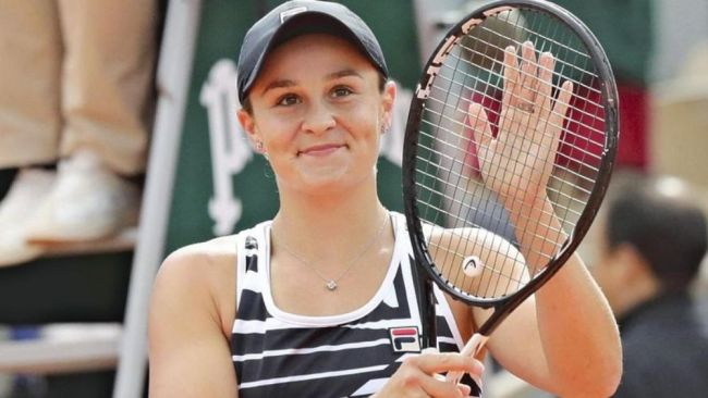 Barty is confident she'll be fit to play in Wimbledon. Image: Getty