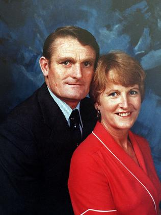 Colin Winchester and his wife Gwen. Picture: Supplied
