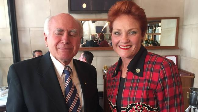 Former prime minister John Howard has warned it would be wrong to repeat the mistake of 20 years ago and try to marginalise Pauline Hanson and her supporters.