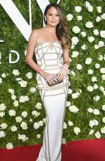 Chrissy Teigen attends the 2017 Tony Awards at Radio City Music Hall on June 11, 2017 in New York City. Picture: Dimitrios Kambouris/Getty Images for Tony Awards Productions