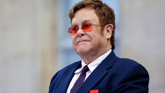 Elton John is currently touring in Ireland. Picture: AFP