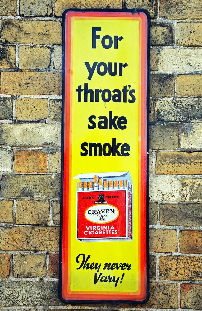 Craven cigarettes implore UK customers to think of their throats.