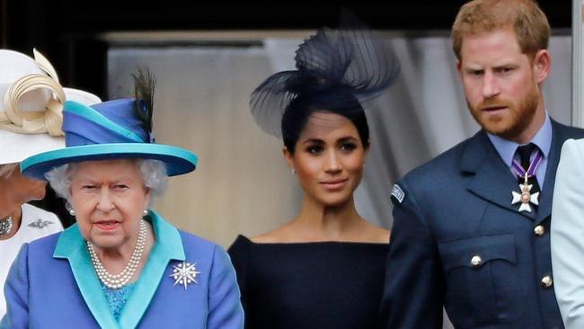 The (no longer royal) Sussexes' decision to relocate to Canada and emancipate themselves from The Firm must have been a bitter pill to swallow for the Queen. Picture: Tolga Akmen/AFP