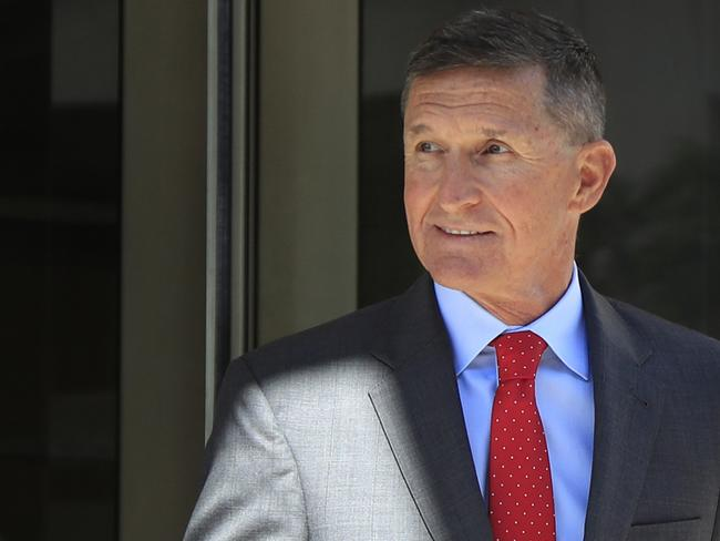 "A judge described Michael Flynn's behaviour as ""traitorous"". Picture: AFP"