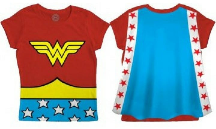 WONDER WOMAN T-SHIRT. Dress the part. From $14.95