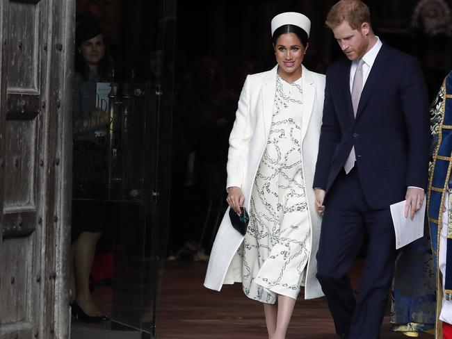 The couple are set to become parents. Picture: AP