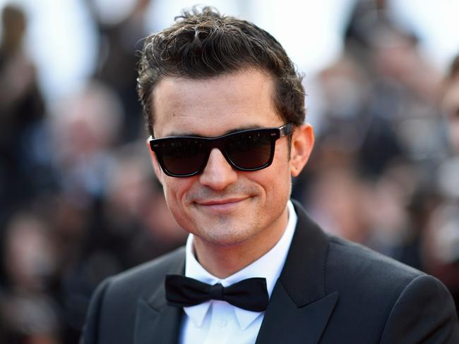 Katy Perry's fiance Orlando Bloom. Picture: AFP