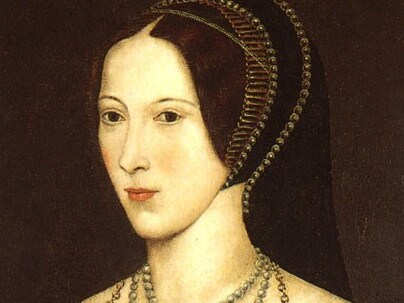 Pictured: Anne Boleyn. Anne of Cleves was believed to have had a good relationship with Anne Boleyn's daughter, the future Queen Elizabeth I.