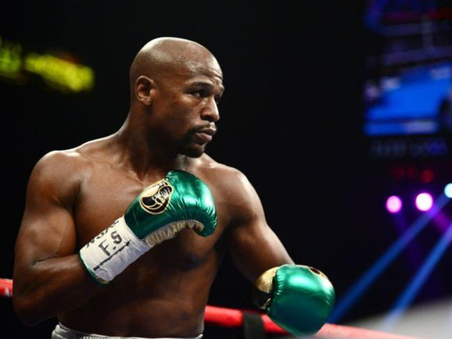 Floyd Mayweather has an imposing 49-0 record in the ring.