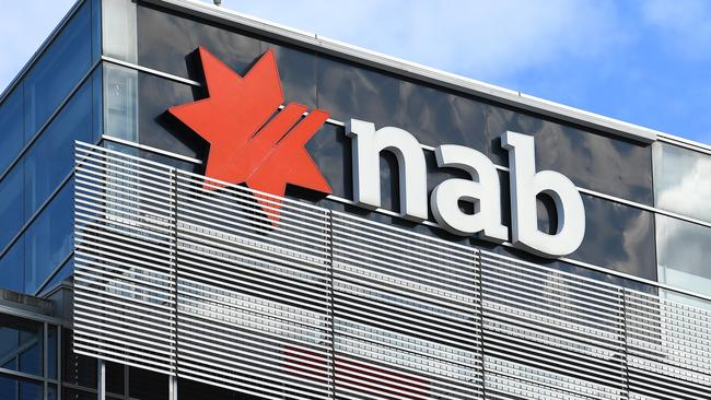 An employee at NAB was sacked after they lied about having contracted the coronavirus. Picture: James Ross/AAP