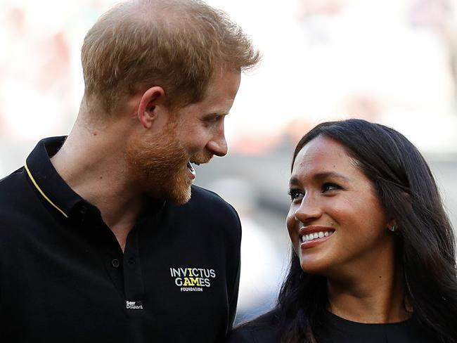 An interview Harry gave before he married Meghan has surfaced, containing some sad comments. Picture: Peter Nicholls — WPA Pool/Getty Images