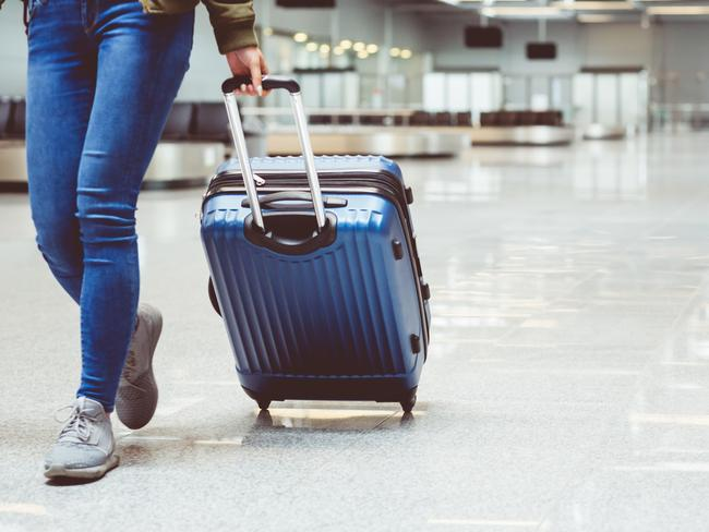 Hard-shell suitcases are the only way to go, the Emirates crew say. Picture: iStock