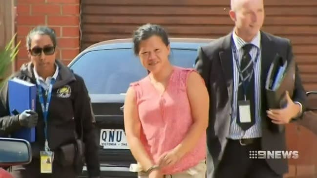 Woman arrested for bashing elderly woman (9 News)