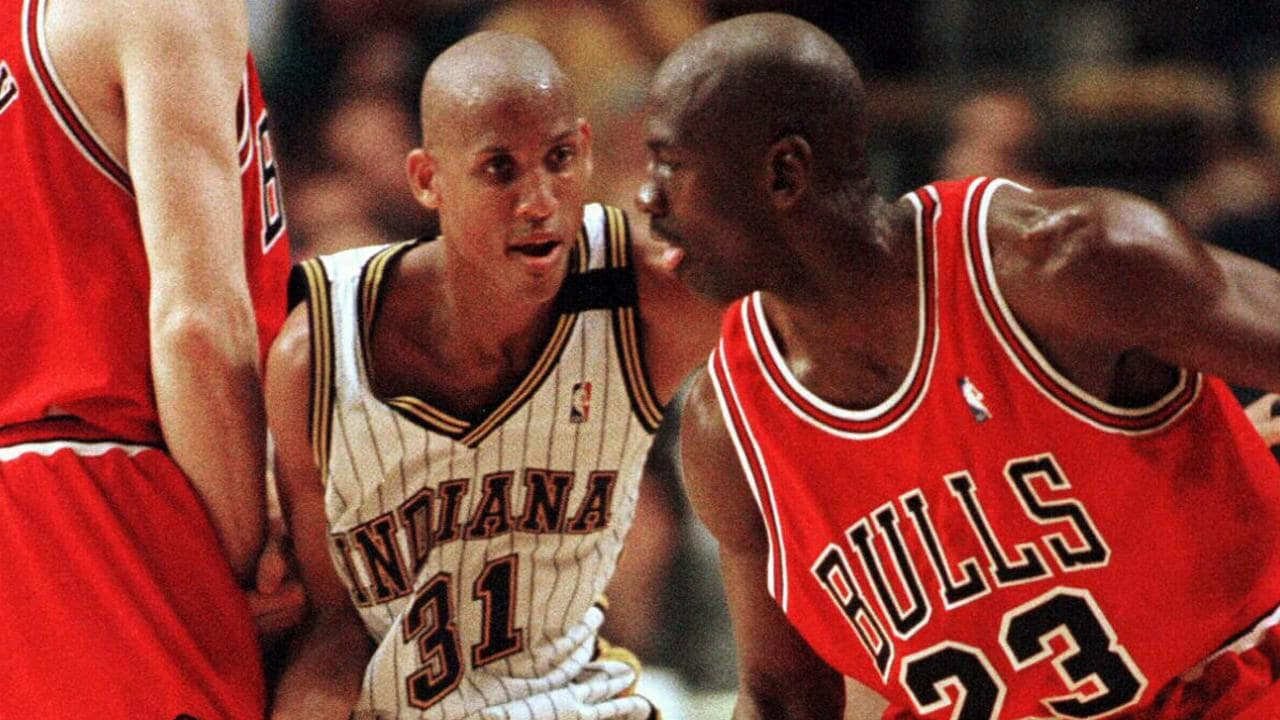 Reggie Miller was hesitant to get involved.