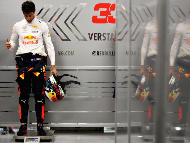 Ricciardo is on the home stretch.