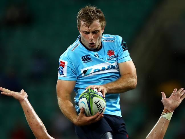 ill Miller will leave the Waratahs after the 2019 season. Picture: Cameron Spencer/Getty Images