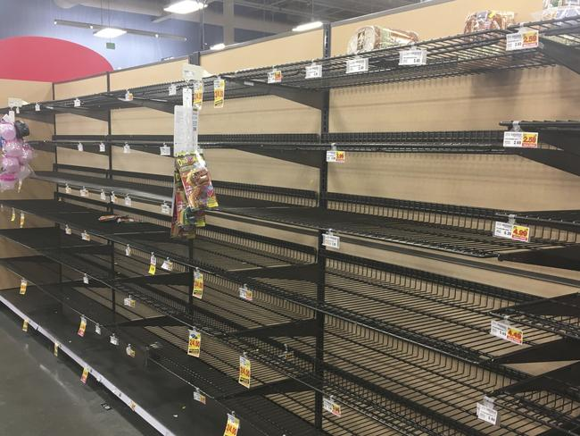 Empty shelves following the Christmas rush are not an 'exceptional circumstance'. Picture: Mark Thiessen