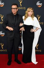 Fred Armisen and Natasha Lyonne attends the 68th Annual Primetime Emmy Awards on September 18, 2016 in Los Angeles, California. Picture: AP