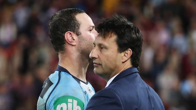 Will Daley continue as Blues coach?