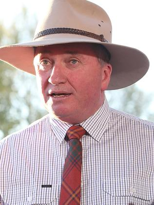 ... and Nationals MP Barnaby Joyce. Picture: Kym Smith