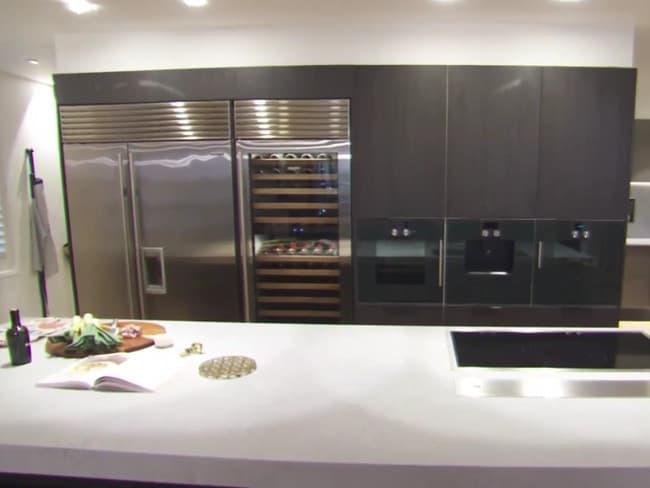 The kitchen impressed the jury.