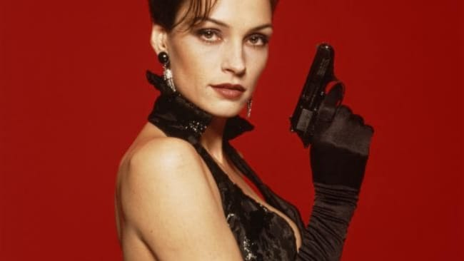 Female spies have long been a part of the Bond tradition. Famke Janseen in 'Golden Eye'. Photo: Getty