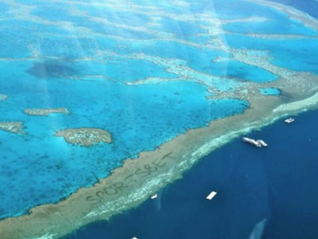 The Great Barrier Reef as you've never seen it before.