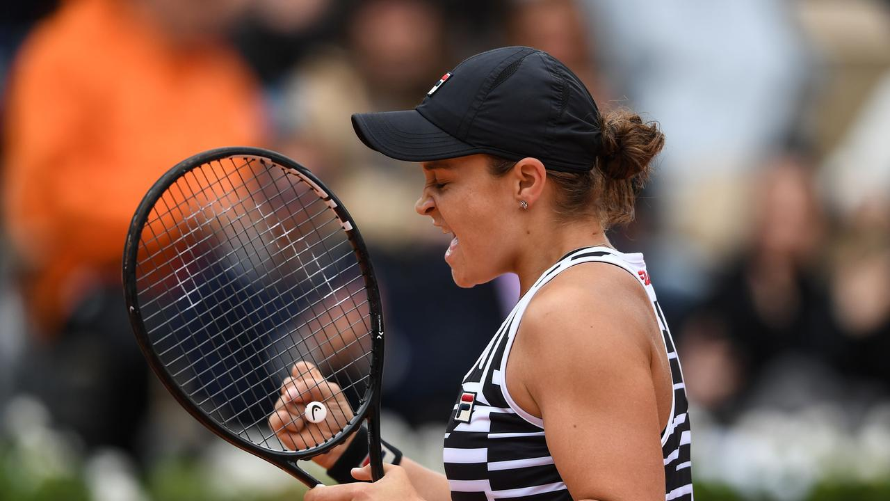Ash Barty overcame huge obstacles to rise to number one in the world. Photo: Christophe ARCHAMBAULT / AFP