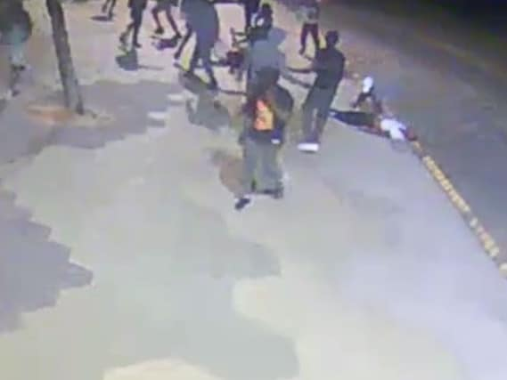 Three men were attacked at St Kilda on December 1. Picture: Victoria Police