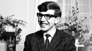 "A young Stephen Hawking in 1963.  <a capiid=""45fbcae792bf02dc66edf7e26c563149"" class=""capi-video"">Stephen Hawking 'one of the most brilliant humans to ever exist', Astrophysicist Cosmologist Brad Tucker</a>"