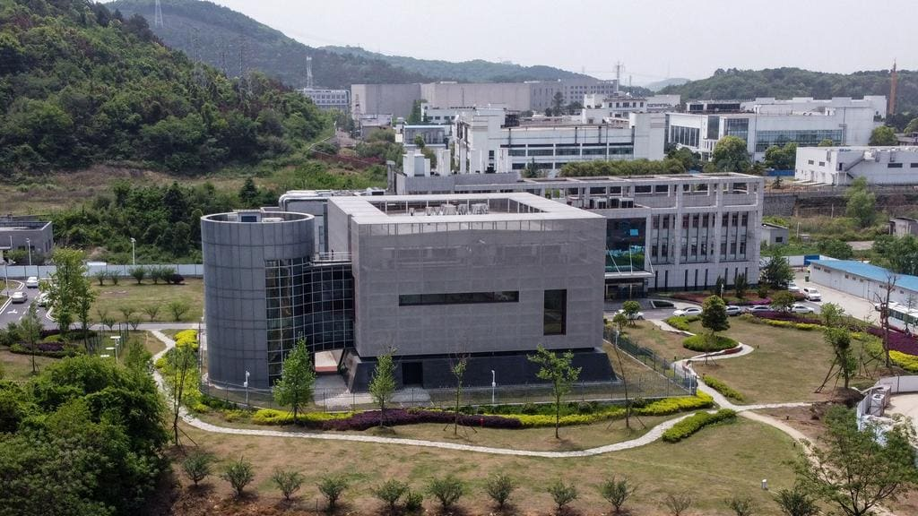 The P4 laboratory at the Wuhan Institute of Virology in Wuhan in China's central Hubei province. Picture: Hector Retamal/AFP