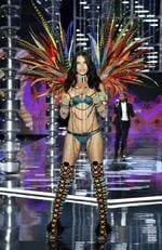 Victoria's Secret Angel Adriana Lima walks the runway during the 2017 Victoria's Secret Fashion Show In Shanghai at Mercedes-Benz Arena on November 20, 2017 in Shanghai, China. Picture: Frazer Harrison/Getty Images for Victoria's Secret