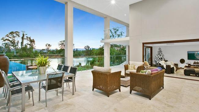 Plenty of sales at Ashmore on the Gold Coast, where this six-bedroom home is listed for sale. Picture: realestate.com.au
