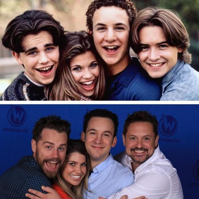 The Boy Meets World cast, then and now.